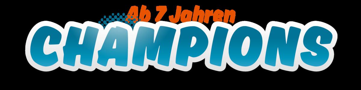 Champions LetsSwim Logo