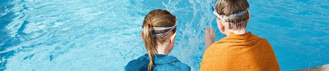Kinder Pool Badetuch Schwimmbrillen